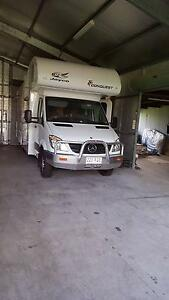 JAYCO CONQUEST 4 BERTH MERCEDES AUTOMATIC AS NEW LOW KLMS Deception Bay Caboolture Area Preview