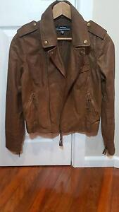 Just Jeans women's Leather Jacket sz/10 in immaculate condition Hazelbrook Blue Mountains Preview
