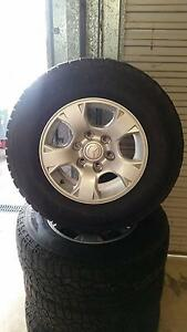 Rims and Mickey Thompson Tyres to fit Mazda BT-50 New Beith Logan Area Preview