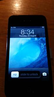 Apple iPhone 4S - Black - unlocked - with acc's & original box Hillarys Joondalup Area Preview
