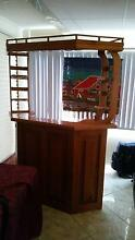 Wooden Home Bar / Cabinet Schofields Blacktown Area Preview