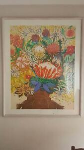'Australian Bouquet' by Australian artist Ruth Mc Gurgan, pastel Mosman Mosman Area Preview