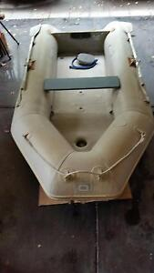 Quicksilver Air Deck 330 Inflatable and Evinrude 8HP Outboard Claremont Nedlands Area Preview