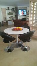 4 Black Dining Chairs.  Perfect Condition.  Comfortable. St Georges Basin Shoalhaven Area Preview