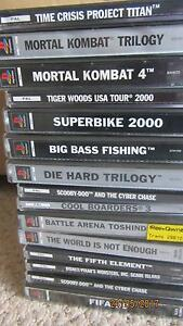 15 X Ps1 games for sale Ourimbah Wyong Area Preview