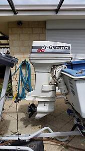 60HP JOHNSON  OUTBOARD  TWO STROKE MOTOR Beechboro Swan Area Preview