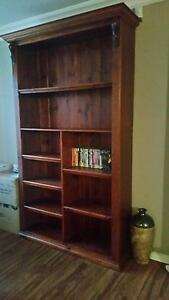 Dark Wooden Bookshelf Roxburgh Park Hume Area Preview