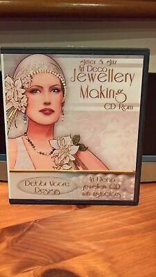 Debbi Moore Designs - Glitter & Glitz Art Deco Jewellery Making - 1 CD Rom