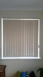 Vertical blinds (cream) various sizes - FREE TO GOOD HOME Bentley Canning Area Preview