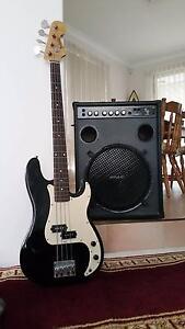 Bass Guitar and Amp Combo Marangaroo Wanneroo Area Preview