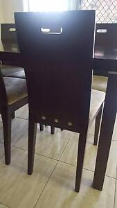 DINING TABLE WITH 6 CHAIRS Glenfield Campbelltown Area Preview
