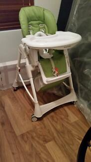 Steelcraft High Chair Messina DLX