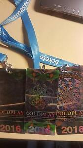 Selling 3 x Coldplay Platinum Reserve Collector Edition Tickets Melbourne CBD Melbourne City Preview