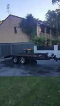 car plant trailer elec brakes 3 t rocker roller warn winch Corlette Port Stephens Area Preview
