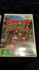 DONKEY KONG COUNTRY RETURNS Wii Murrumba Downs Pine Rivers Area Preview