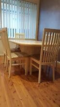 Dining table and Chairs Ryde Ryde Area Preview