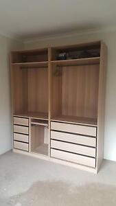 IKEA PAX Wardrobe Double Bay Eastern Suburbs Preview