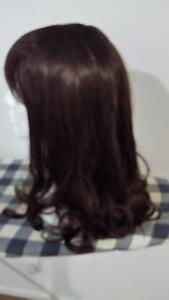 lady wigs medium brown curly wigs flat Berwick Casey Area Preview