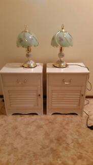 2 x bedside lamps Macquarie Fields Campbelltown Area Preview