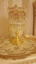 Crystal Side Table Lamps x 2. IMMACULATE CONDITION Strathfield Strathfield Area Preview