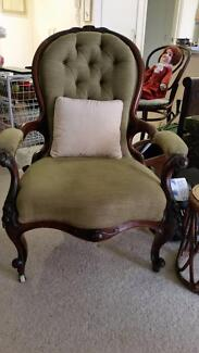 Antique Grandmother/father chairs