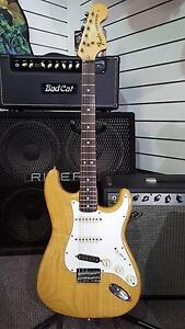 Fender 1974 Natural Finish Stratocaster Hardtail Electric Guitar Brighton Bayside Area Preview