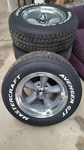Ford american Racing 15 x8 wheels and Tyres Middle Ridge Toowoomba City Preview
