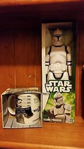 Star wars clone trooper and mug in box brandnew Arndell Park Blacktown Area Preview
