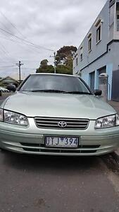 2001 Toyota Camry Sedan Comes with REGO and RWC Low KMS West Footscray Maribyrnong Area Preview