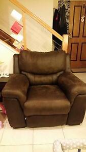 Brown Fabric Recliner x 2 Upper Coomera Gold Coast North Preview