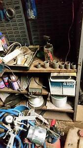 shed sale tools/vices/air comp/welder/fishing rods/tomuch to list Smithfield Plains Playford Area Preview