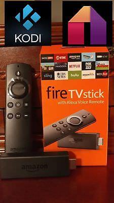 Amazon Fire Tv Stick 2Nd Gen W Alexa Voice Remote Kodi 17 6 Premium Build