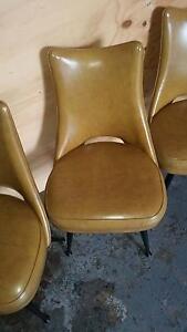 Amazing 5 x Atomic Wingback Retro Chairs Brunswick Moreland Area Preview