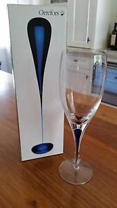Orrefors Crystal Wine Glasses / Goblets – set of 2 New Lambton Newcastle Area Preview