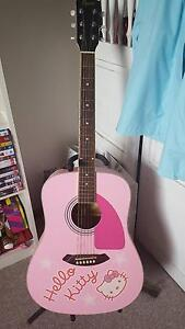 Limited Edition Fender Squier Hello Kitty Acoustic Guitar Knoxfield Knox Area Preview