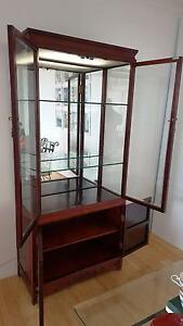 Superbly crafted Chinese repro display cabinet w base cupboard Artarmon Willoughby Area Preview