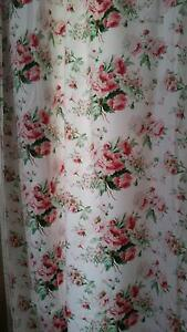 Curtains - thick cotten - lgr floral,  sep lining, just gorgeous Byron Bay Byron Area Preview
