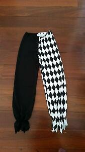 California Costumes black and white Evil Jester costume Claremont Nedlands Area Preview