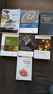 Various Law Textbooks (Prices in the description) South Yarra Stonnington Area Preview