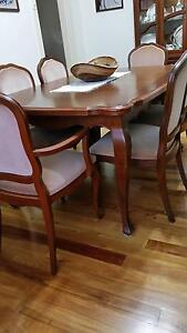 Berryman dining table & chairs Homebush Strathfield Area Preview