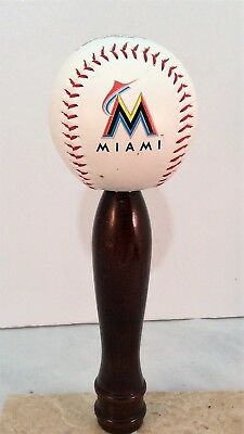 Miami Marlins Kegerator Beer Tap Handle Mlb Pub Style Baseball Cherry