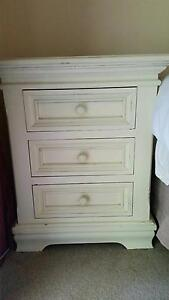 2 French style vintage bedside cupboards The Patch Yarra Ranges Preview