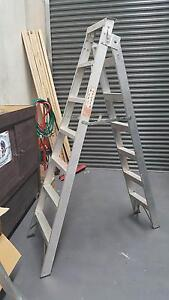 Surdy Aluminium Ladder opens to 3.8 m Campbelltown Campbelltown Area Preview