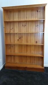 Pine Timber Bookcase Enoggera Brisbane North West Preview