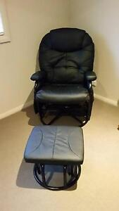 Valco Seville Glider Nursing Chair and Ottoman Macquarie Hills Lake Macquarie Area Preview