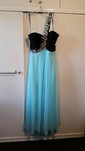 Black and Aqua Formal Dress (Plus Size) Acacia Ridge Brisbane South West Preview