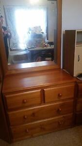 Kid's furniture set - desk, bed, bedside, dressing table St Albans Brimbank Area Preview