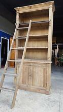 NEW FRENCH PROVINCIAL LIBRARY BOOKCASE SHELF DISPLAY & LADDER Chipping Norton Liverpool Area Preview