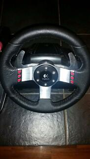 Logitech G27 game steering wheel ps3 pc ps4 xbox 360