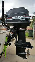 Mercury 55hp Tiller Steer outboard motor Seacliff Holdfast Bay Preview